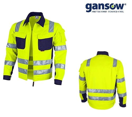 Qualitex Pro Bundjacke gelb/marine Gr. 3XL AKTION496