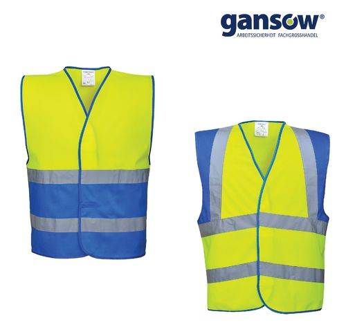 2 Warnwesten SET Portwest gelb blau Gr. L/XL AKTION490