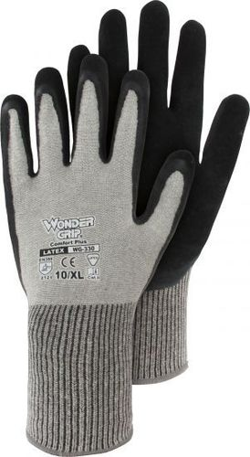 Wonder Grip® Comfort Plus - Baumwoll-Strickhandschuh mit Latex WG-330