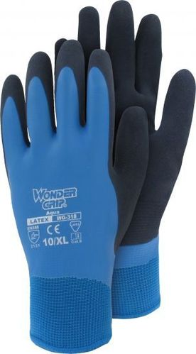 Wonder Grip® Aqua - Nylon-Strickhandschuh mit Latex WG-318