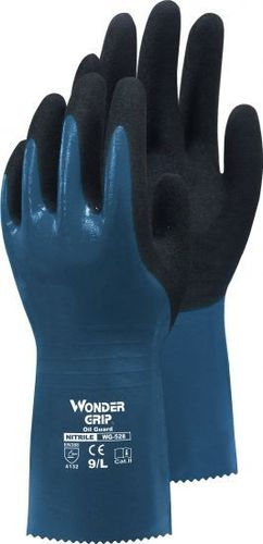Wonder Grip® Oil Guard - Nylon-Handschuh mit Nitril WG-528L