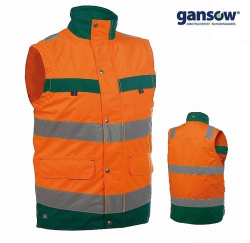 DASSY Bilbao Warnschutz Weste orange Gr. L AKTION 480