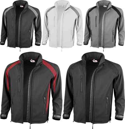 Qualitex Softshell-Jacke
