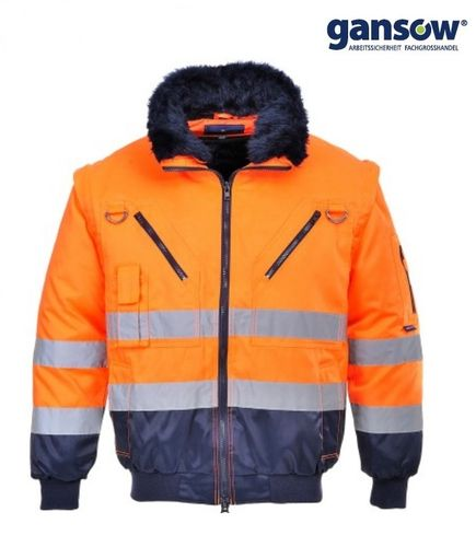 Portwest Winterjacke C465 orange Gr. XXL AKTION488