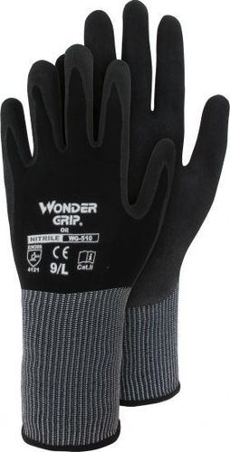 Wonder Grip® Oil - Nylon-Strickhandschuh mit Nitril WG-510