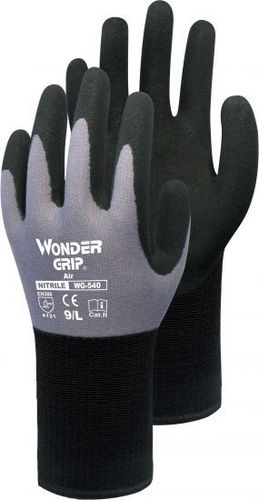 Wonder Grip® Air - Nylon-Strickhandschuh mit Nitril WG-540