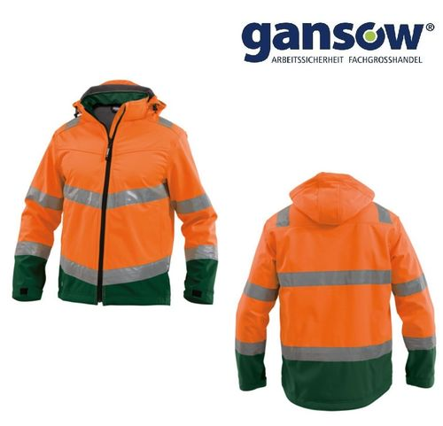 DASSY MALAGA Softshelljacke orange Gr. 3XL AKTION 507